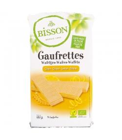 Gaufrettes au citron BIO - 190g - Bisson