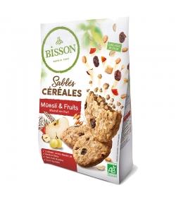 Sablés aux céréales, müesli & fruits BIO - 200g - Bisson