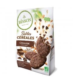 Sablés aux céréales & chocolat BIO - 200g - Bisson