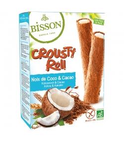 Crousty roll fourrés à la noix de coco & cacao BIO - 125g - Bisson
