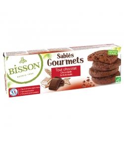 BIO-Spritzgebäck Gourmets mit Schokolade - 150g - Bisson