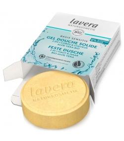 Festes BIO-Duschgel 2in1 Haut & Haar Aloe Vera - 50g - Lavera Basis Sensitiv