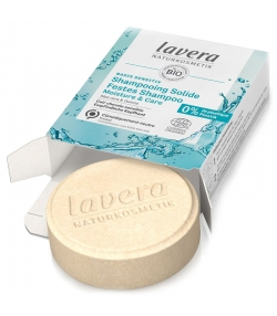 Festes BIO-Shampoo Feuchtigkeit & Pflege Aloe Vera & Quinoa - 50g - Lavera Basis Sensitiv