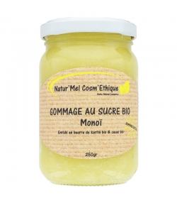 Natürliches Zuckerpeeling Monoï - 250g - Natur'Mel Cosm'Ethique