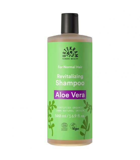 Shampooing cheveux normaux BIO aloe vera - 500ml - Urtekram