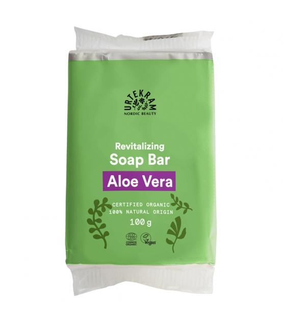 Regenerierende BIO-Seife Aloe Vera - 100g - Urtekram