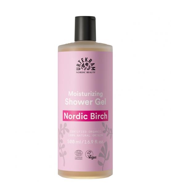 Feuchtigkeitsspendendes BIO-Duschgel Nordische Birke - 500ml - Urtekram