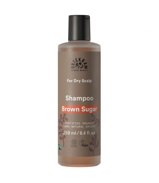 BIO-Shampoo für trockene Kopfhaut Brauner Zucker - 250ml - Urtekram