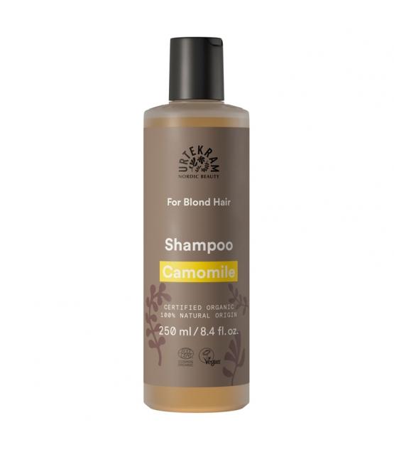 Shampooing cheveux blonds BIO camomille - 250ml - Urtekram