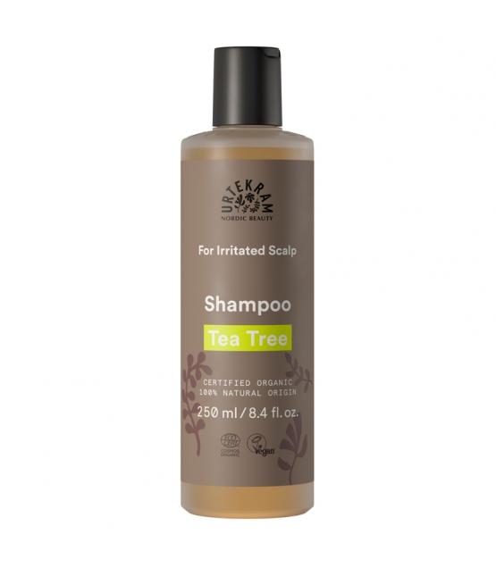 BIO-Shampoo für gereizte Kopfhaut Teebaum - 250ml - Urtekram