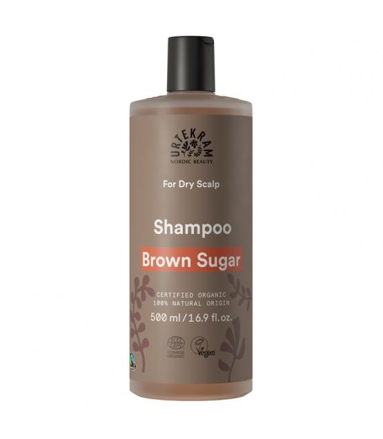 Shampooing cuir chevelu sec BIO sucre brun - 500ml - Urtekram