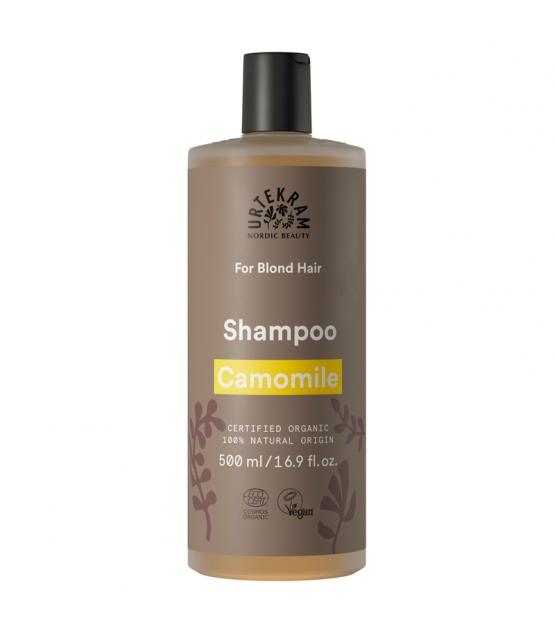 Shampooing cheveux blonds BIO camomille - 500ml - Urtekram