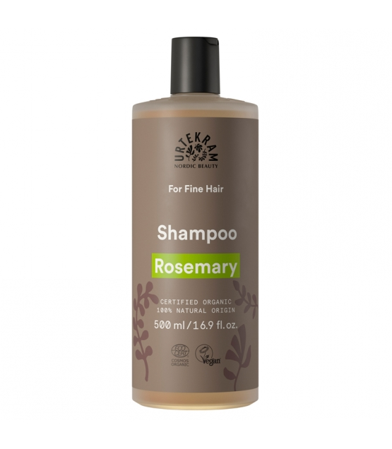 Shampooing cheveux fins BIO romarin - 500ml - Urtekram
