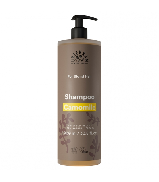 Shampooing cheveux blonds BIO camomille - 1l - Urtekram