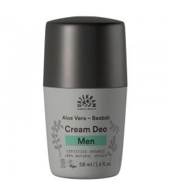 Déodorant à bille homme BIO baobab, réglisse & aloe vera - 50ml - Urtekram