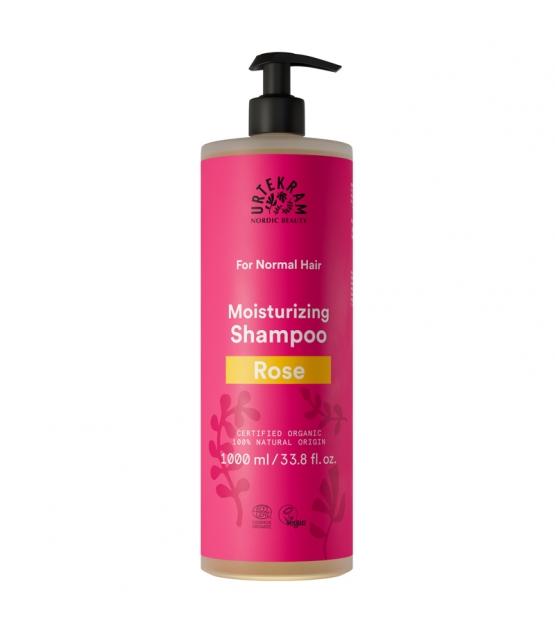 BIO-Shampoo für normales Haar Rose - 1l - Urtekram