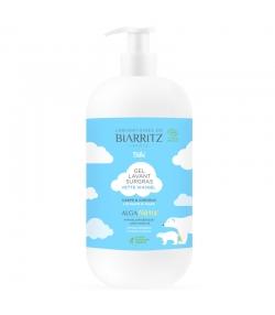 Gel lavant surgras corps & cheveux bébé BIO sans parfum - 500ml - Laboratoires de Biarritz Alga Natis