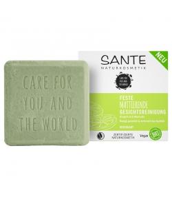 Nettoyant visage matifiant solide BIO pamplemousse & sel marin - 60g - Sante