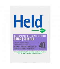 Ökologisches Buntwaschmittel COLORA Lavendel - 40 Waschgänge - 3kg - Held