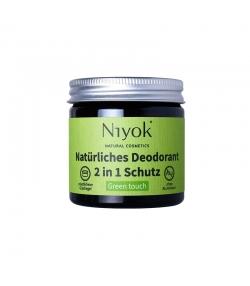Déodorant crème 2 en 1 naturel Green touch - 40ml - Niyok