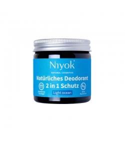 Déodorant crème 2 en 1 naturel Light ocean - 40ml - Niyok