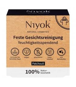 Nettoyant visage solide naturel patchouli - 80g - Niyok