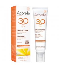 BIO-Sonnenschutzspray Körper & Gesicht LSF 30 - 100ml - Acorelle