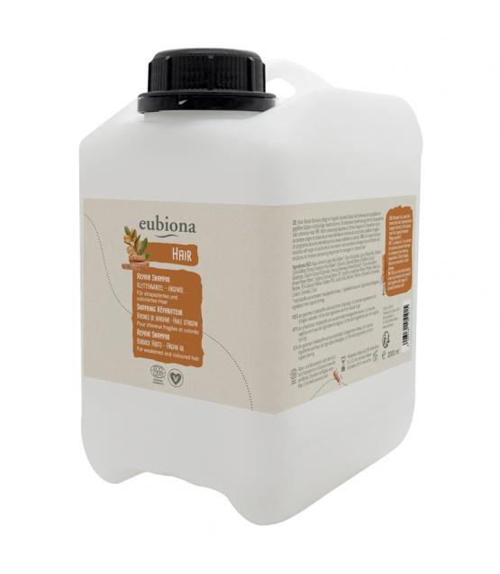 Shampooing réparateur BIO racine de bardane & argan - 2l - Eubiona