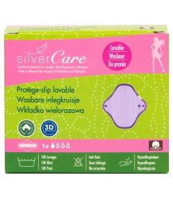 Protège-slip lavable BIO pour règles légères - 1 pièce - Silvercare