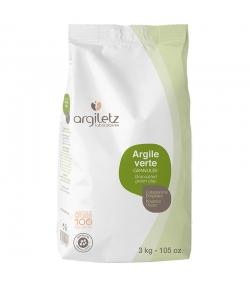Argile verte granulée - 3kg - Argiletz
