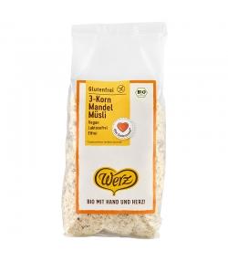 Müesli aux 3 céréales & amandes BIO - 400g - Werz