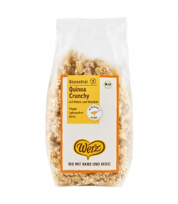 Müesli croquant au quinoa BIO - 250g - Werz