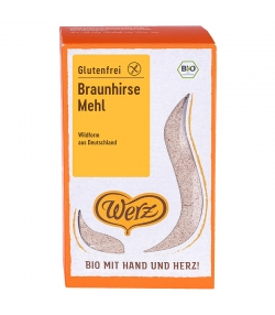Farine de millet brun BIO - 500g - Werz