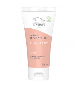 Crème mains réparatrice BIO algue rouge - 50ml - Laboratoires de Biarritz Alga Cicosa