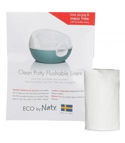 Sacs jetables dans les toilettes pour le pot Clean Potty ECO - 30 pièces - Naty