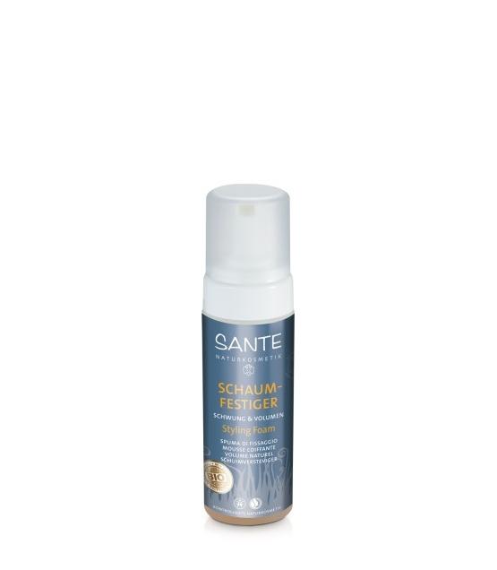 Mousse coiffante volume naturel BIO protéines de soie - 150ml - Sante