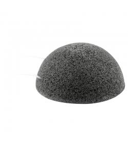 Éponge Konjac naturelle charbon de bambou - 1 pièce - Rosenrot