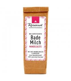BIO-Bademilch Mandelmilch & Hibiscus - 150g - Rosenrot