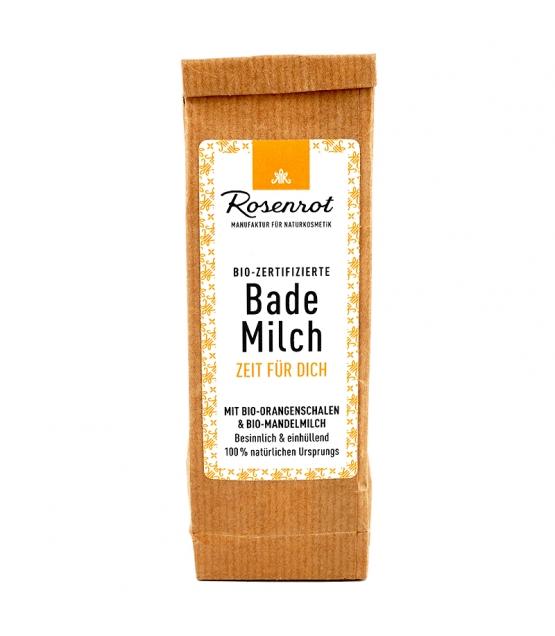 BIO-Bademilch Orangenschalen & Mandelmilch - 150g - Rosenrot