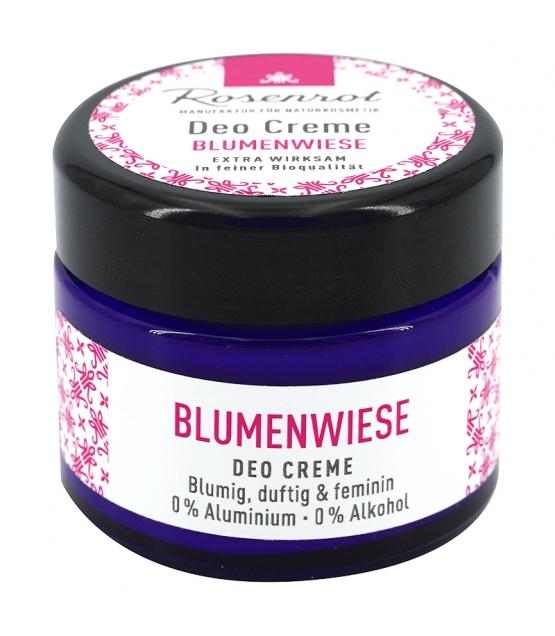 BIO-Deo Creme Blumenwiese - 50g - Rosenrot