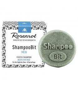 Natürliches festes Shampoo Nordwind für Männer - 55g - Rosenrot
