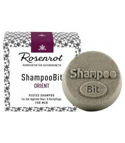 Natürliches festes Shampoo Orient für Männer - 55g - Rosenrot