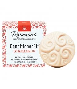 Natürliche feste Haarspülung extra Reichhaltig - 60g - Rosenrot