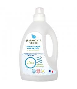 Ökologisches Flüssigwaschmittel konzentriert Marseiller Seife - 40 Waschgänge - 1,5l - Harmonie Verte
