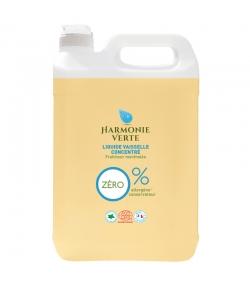 Liquide vaisselle concentré fraîcheur mentholée écologique - 5l - Harmonie Verte