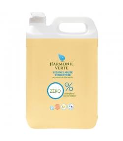 Lessive liquide concentrée savon de Marseille écologique - 133 lavages - 5l - Harmonie Verte