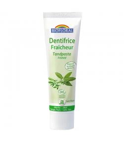 Dentifrice fraîcheur BIO menthe, sauge & thym sans fluor - 100g - Biofloral