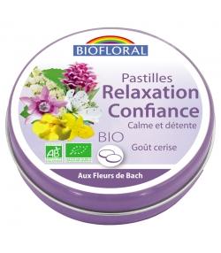 Pastilles Relaxation & Confiance BIO goût cerise - 50g - Biofloral