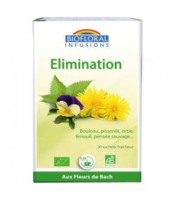 Infusion Elimination BIO - 20 sachets - Biofloral