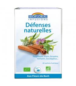Infusion Défenses naturelles BIO - 20 sachets - Biofloral